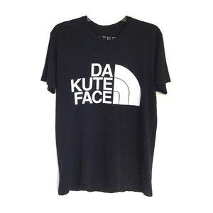 BLTEE Da Kute Face Graphic Tee Black Medium
